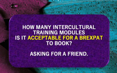 How manyintercultural training modules is it acceptable for a BREXPAT tobook?