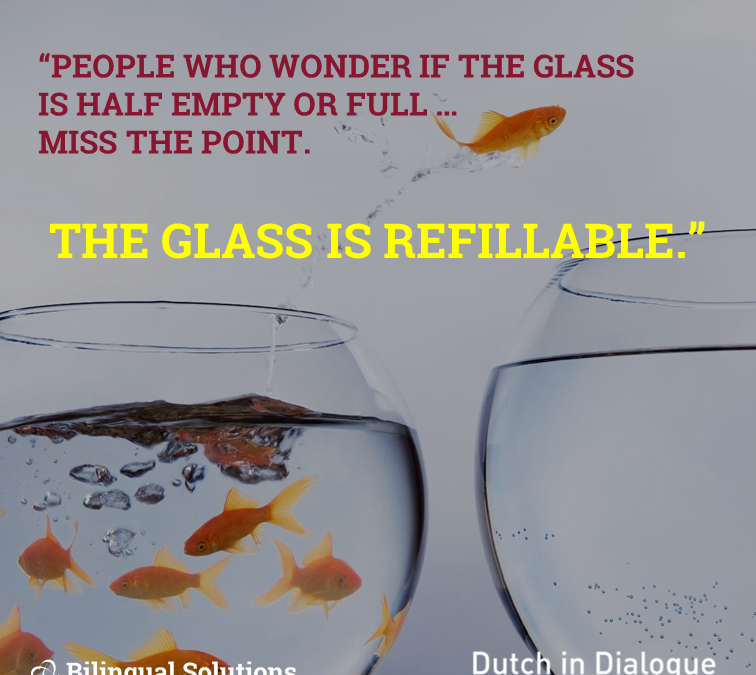Refill your glass – in communication AND culture!